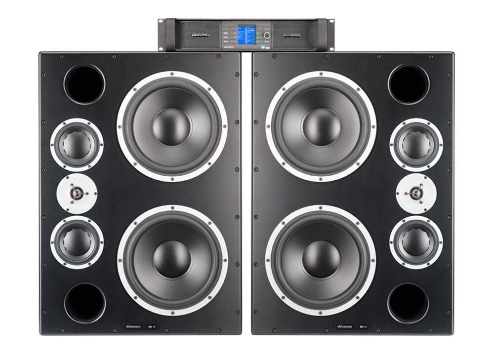 Mastering studio speakers