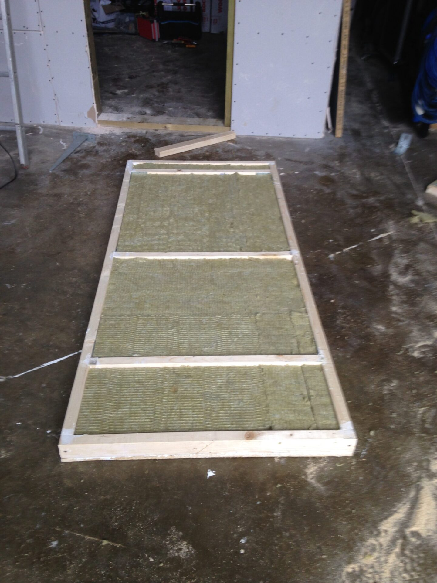Studio door construction