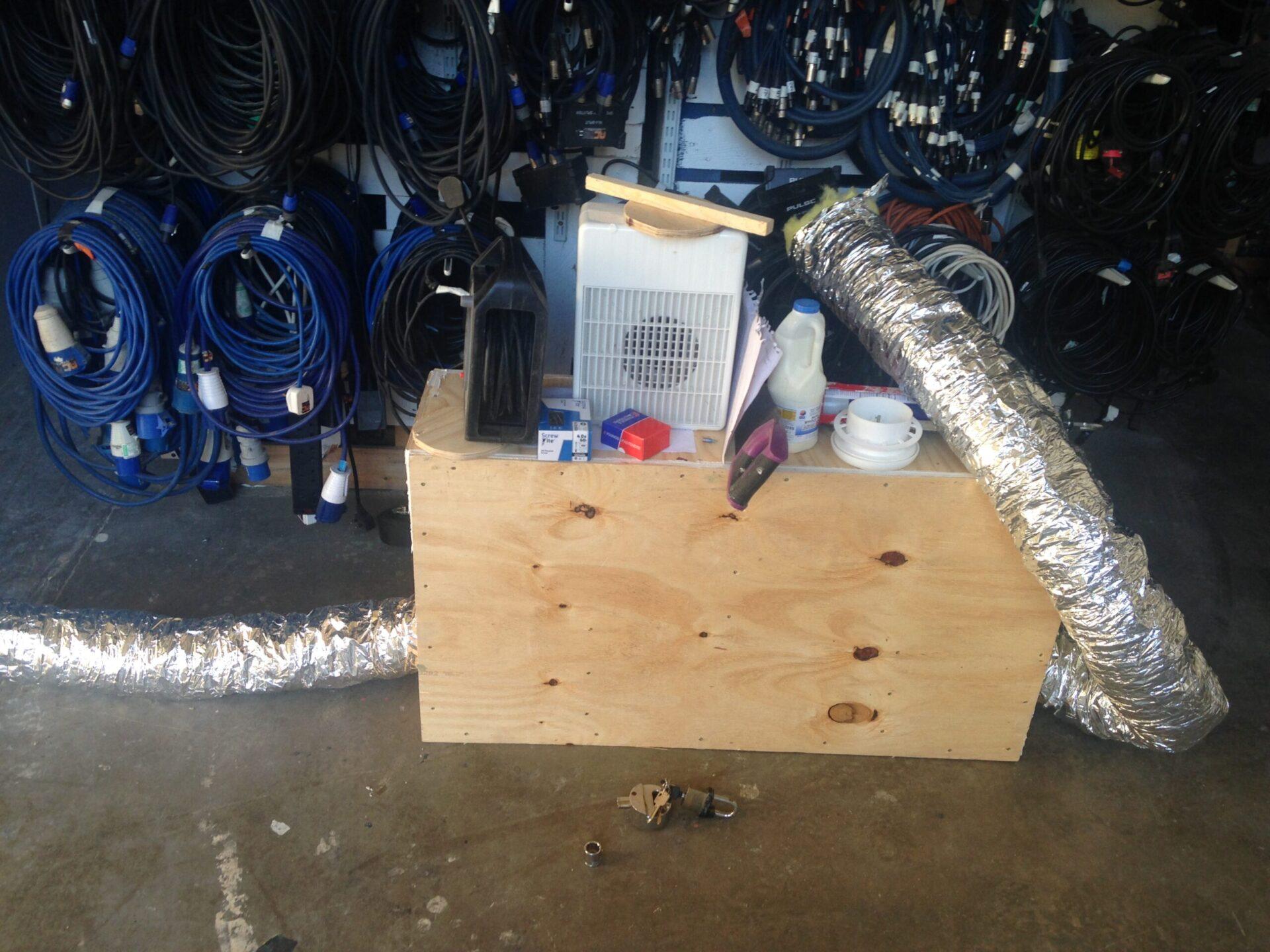 Soundproof ventilation