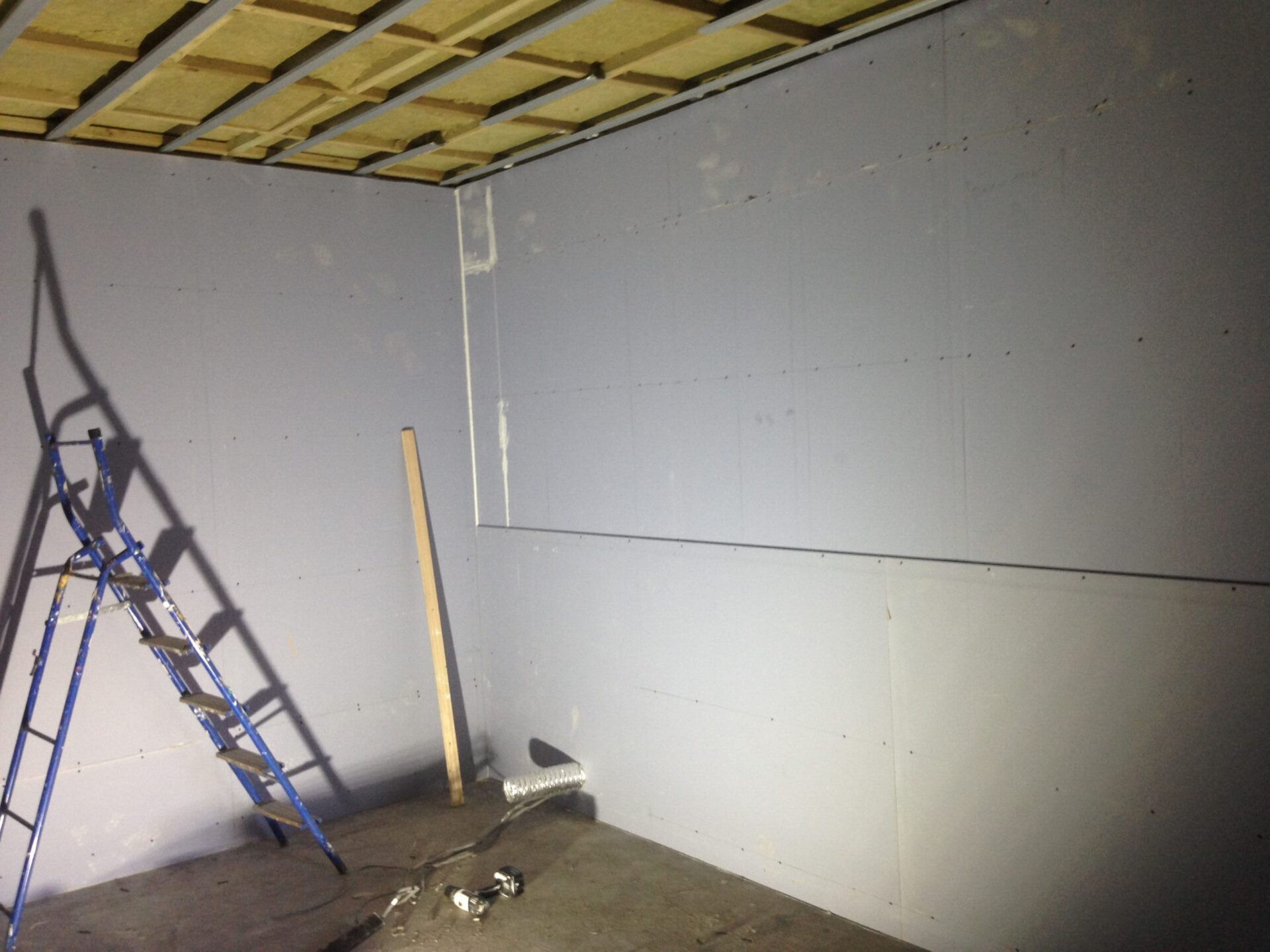soundproof plasterboard